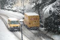 Themenbild - Wintereinbruch in Deutschland