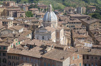 Siena, Dachlandschaft