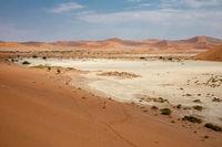 Dunes in the Namib Naukluft National Park, Namibia