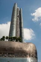 Singapur, Republik Singapur, Wolkenkratzer mit The Orchard Residences und ION Orchard Einkaufszentrum