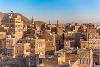 Panorama of Sanaa, capital of Yemen