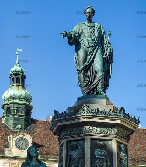 Statue, Wien, Österreich