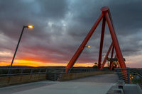 Sunset Yandhai Nepean Crossing