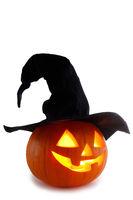Jack O Lantern Halloween pumpkin