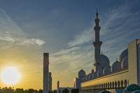 Abu Dhabi. United Arab Emirates. Sheikh Zayed Grand Mosque
