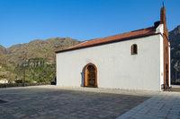 Der Kirchplatz von Chipude auf der Insel La Gomera