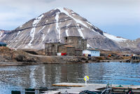 Ny-Alesund, Spitzbergen, Norwegen