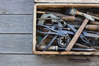 Different hand tools
