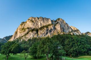 Climbing on the Drachenwand via ferrata