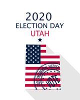 2020 Utah vote card