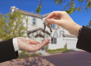 Handing Over The Keys and New House
