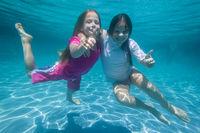 Girls Underwater Fun