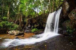 Waterfall in Cambodia