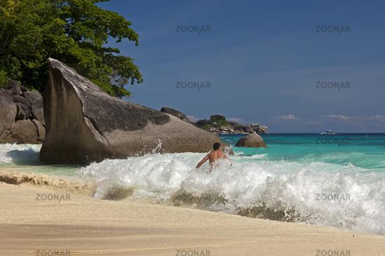Traumstrand auf den Similan Inseln, Thailand
