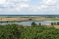 Elbtalaue im Wendland bei Gorleben, Niedersachsen