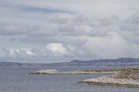 Landschaft auf der Insel Grisvagøya