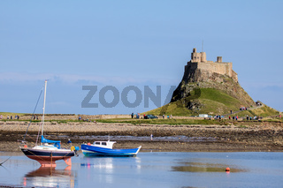 View of Holy Island Lindisfarne