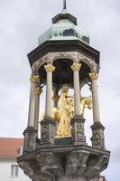 Golden Rider Monument