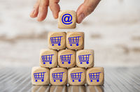 online shopping im Internet