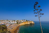 Beach near Albufeira - Algarve Portugal