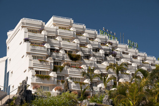 Hotelanlage in Punto de Alcala, Teneriffa, Kanarische Inseln, Spanien, Europa