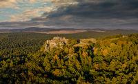 Burgruine Regenstein im Harz Blankenburg