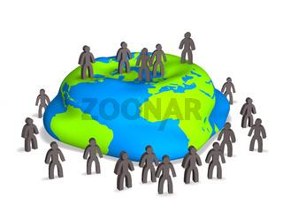 Umweltzerstörung durch Überbevölkerung