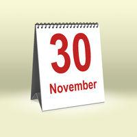 November 30th | 30.November
