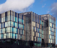 The new Leeds City College Quarry Hill Campus building