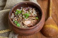 Latvian  porridge Griki