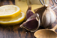Garlic the best specific for influenza. Syrup prepared from healthy garlic