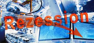 Industrie und Rezession