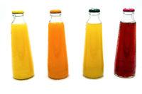 Bouteilles de jus de fruits et légumes