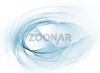 linien bewegung banner farben blau