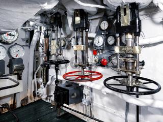 Pressure Valves on HMS Belfast