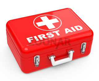 the first-aid box