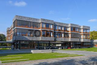 Gebäude des Bundesverfassungsgericht in Karlsruhe, Deutschland