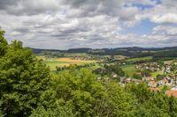 sunny Bavarian Forest scenery