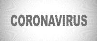 Coronavirus halftone vector illustration