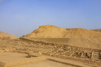 Deir el-Medina (Valley of the Workers), an ancient Egyptian village home to artisans who worked on the tombs in the Valley of the Kings