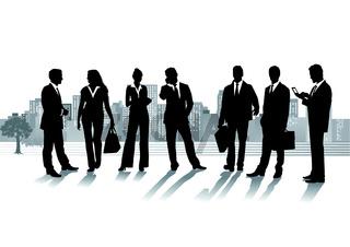 Business in der Stadt.eps