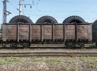 wheels for trucks in a wagon for transportation