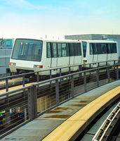 Train transfer, Frankfurt airport, Germany