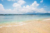 Calm surf on a beach