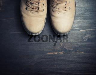 Vintage travel boots