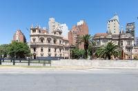 Cordoba Argentina Yrigogen avenue historic buildings