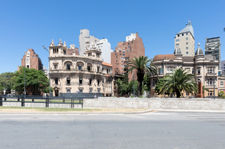 Cordoba Argentina Yrigogen avenue historic buildings