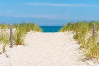 Weiße Sandstrände an der Ostseeküste bei Graal-Müritz
