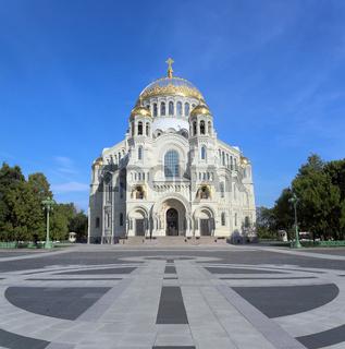 Naval Cathedral in Kronstadt Saint-petersburg