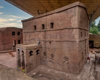 House of the Cross church, Lalibela, Ethiopia, Africa